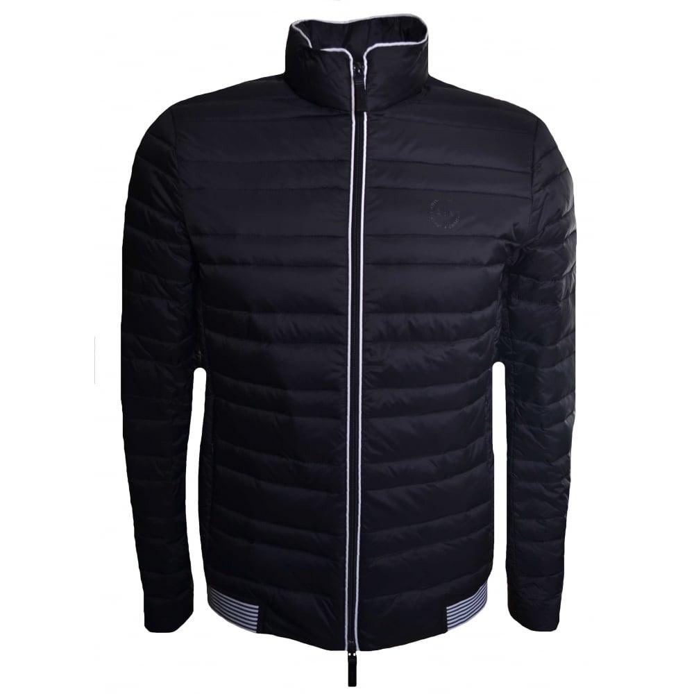 3dd153df6 Armani Exchange Armani Exchange Men's Black Quilted Jacket