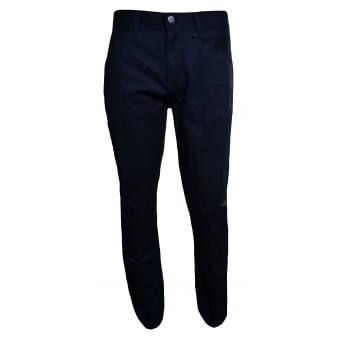 Armani Exchange Men's Navy Blue Chino's