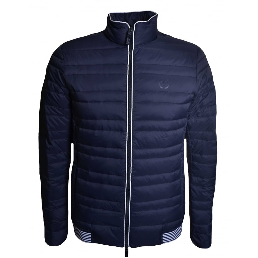 5810cccc Armani Exchange Armani Exchange Men's Navy Quilted Jacket