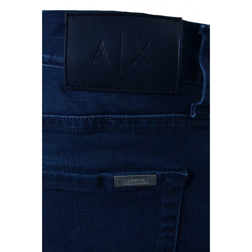 4372376c Armani Exchange Armani Exchange Men's Slim Fit Blue Jeans