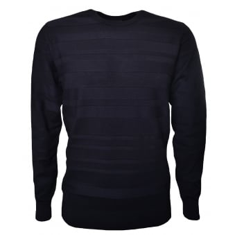 Armani Jeans Men's Black Jumper