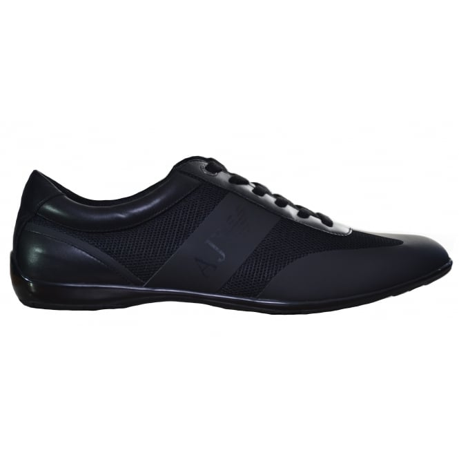 Armani Jeans Men's Black Trainers
