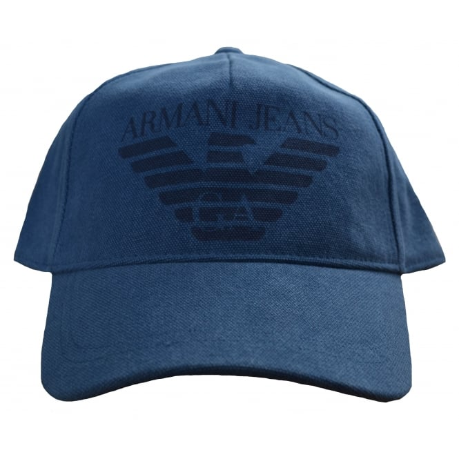 Armani Jeans Men's Blue Cap