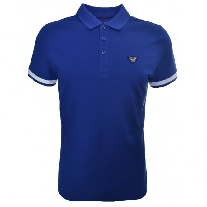 Armani Jeans Men's Blue Polo Shirt