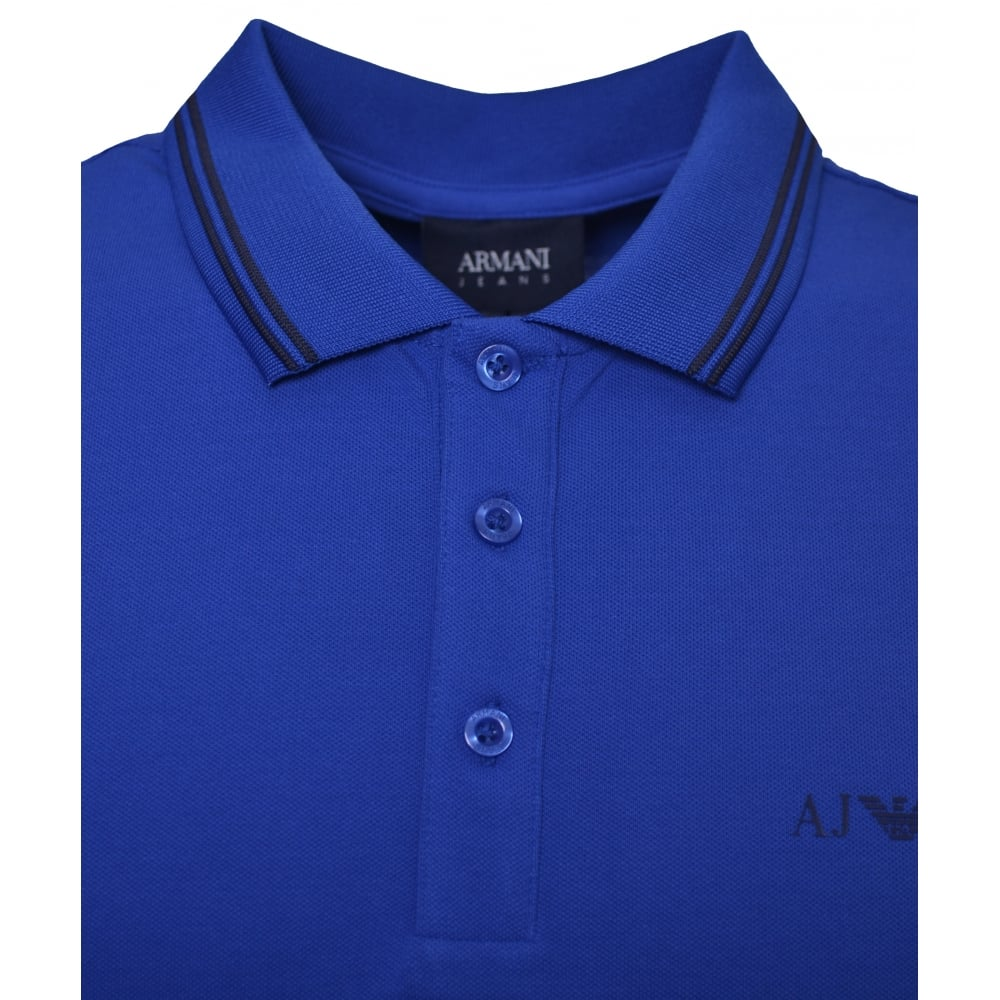 264269d2fb Armani Jeans Armani Jeans Men's Blue Polo Shirt