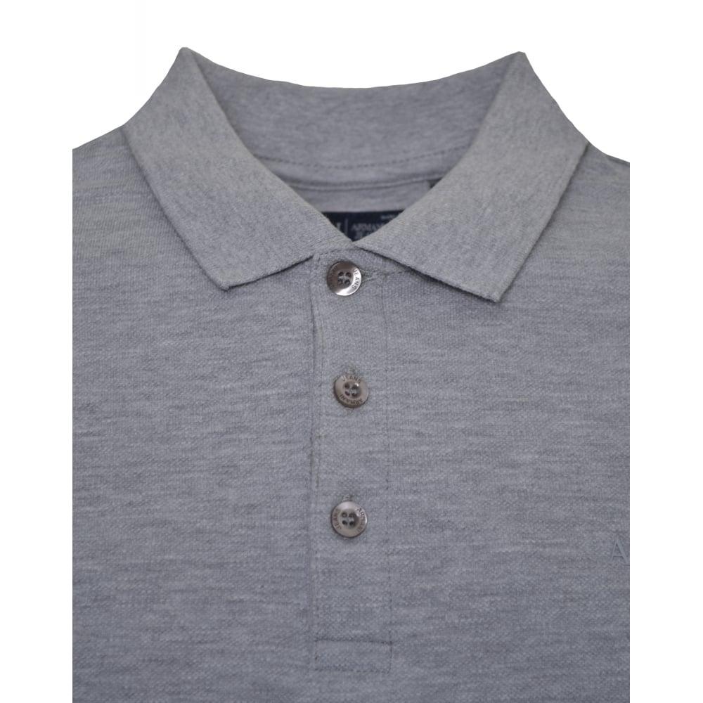 Armani Jeans Men  039 s Grey Polo Shirt 96155a4c3