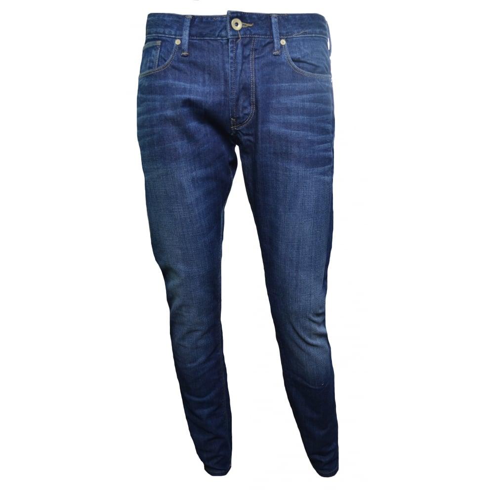 Armani Jeans Men  039 s J06 Slim Fit Blue Denim Jeans 6906d204e524