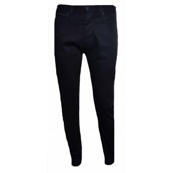 Armani Jeans Men's J45 Black Slim Fit Jeans