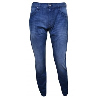 Armani Jeans Men's J45 Blue Slim Fit Jeans