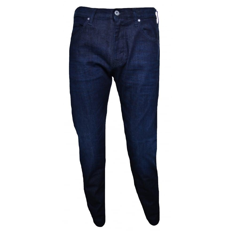 cf05fad057c1c Armani Jeans Men  039 s J45 Dark Blue Slim Fit Jeans