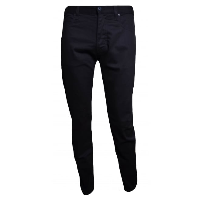Armani Jeans Men's J45 Dark Navy Blue Slim Fit Jeans