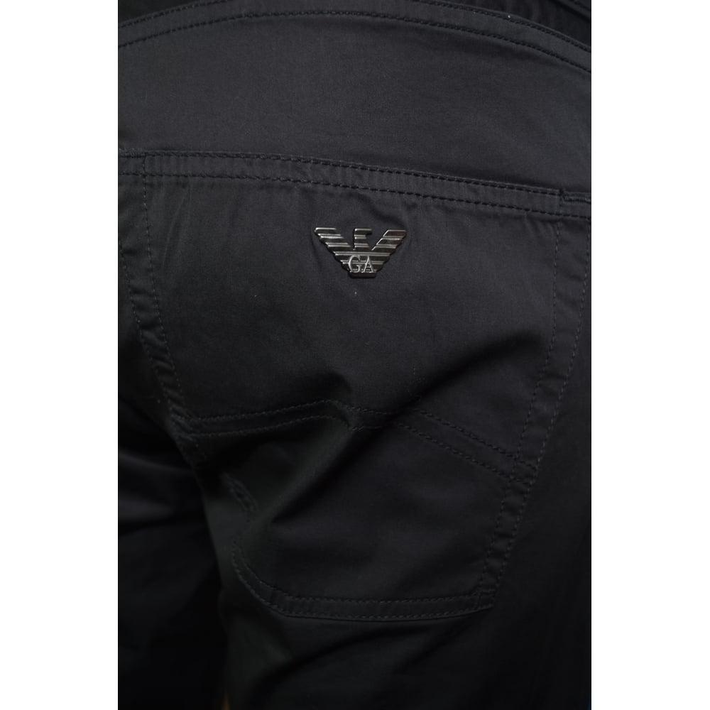 4677859c Armani Jeans Armani Jeans Men's J45 Navy Blue Slim Fit Cotton Jeans