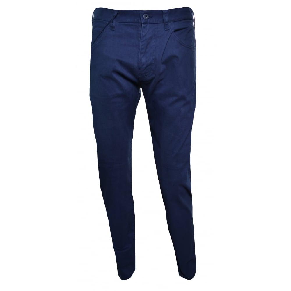 buy online c29c7 a6893 Men's J45 Slim Fit Blue Chinos