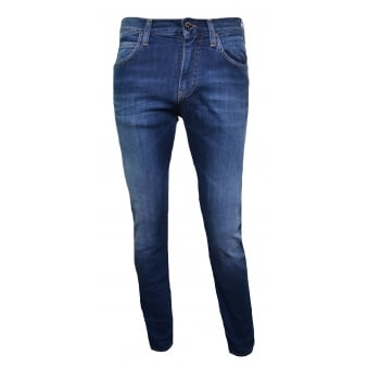 Armani Jeans Men's J45 Slim Fit Blue Jeans