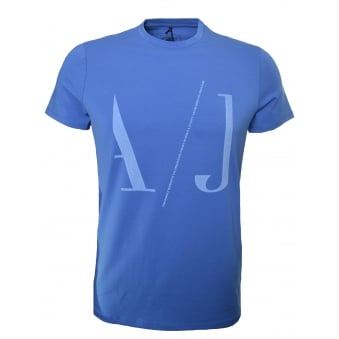 Armani Jeans Men's Light Blue T-Shirt