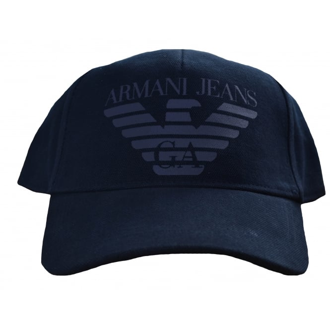 Armani Jeans Men's Navy Blue Cap