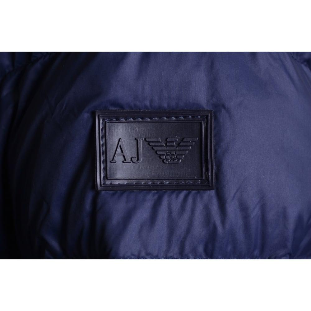 cb3e2b39 Men's Navy Blue Reversible Puffer Jacket