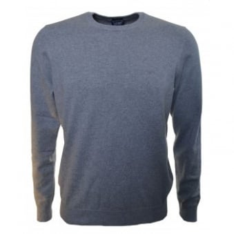 Armani Jeans Men's Regular Fit Grey Jumper