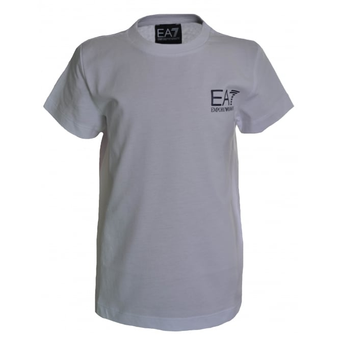 EA7 Kids White T-Shirt