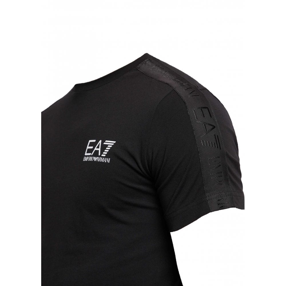 zuverlässige Qualität ästhetisches Aussehen beste Qualität für Emporio Armani Black Crew Neck T-Shirt