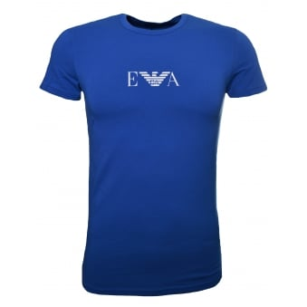 Emporio Armani Men's Blue T-Shirt