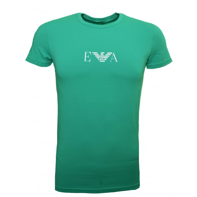 Emporio Armani Men's Green T-Shirt