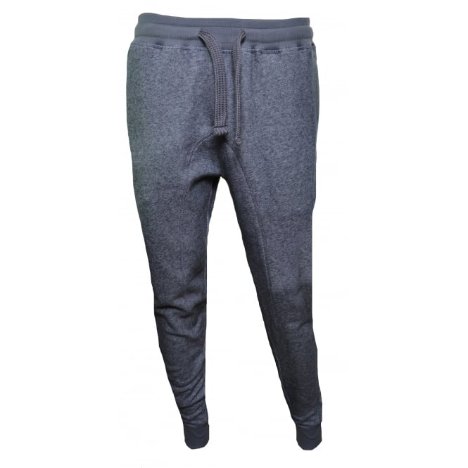Emporio Armani Men's Grey Marl Jogging Bottoms