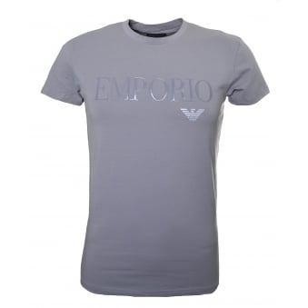 Emporio Armani Men's Grey T-Shirt