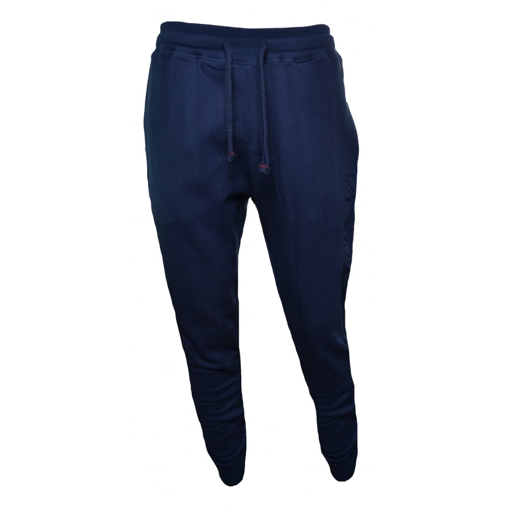 3398245559d Emporio Armani Men's Navy Blue Jogging Bottoms