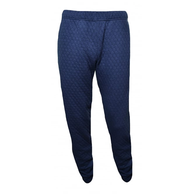 Emporio Armani Men's Navy Blue Jogging Bottoms