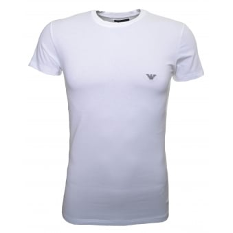 Emporio Armani Men's White T-Shirt