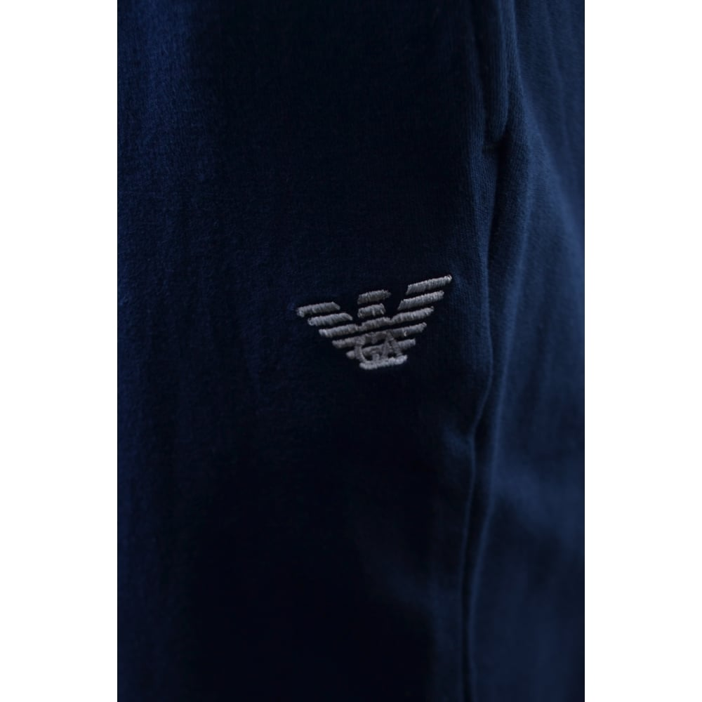 hot-seeling original detailed images fashion style of 2019 Emporio Armani Navy Blue Jogging Bottoms