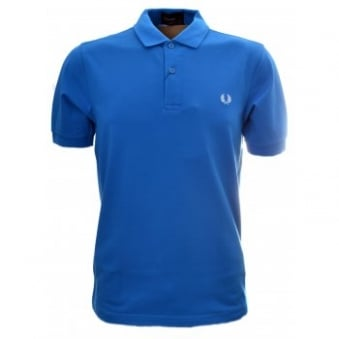 Fred Perry Atlantic Blue Slim Fit Shirt