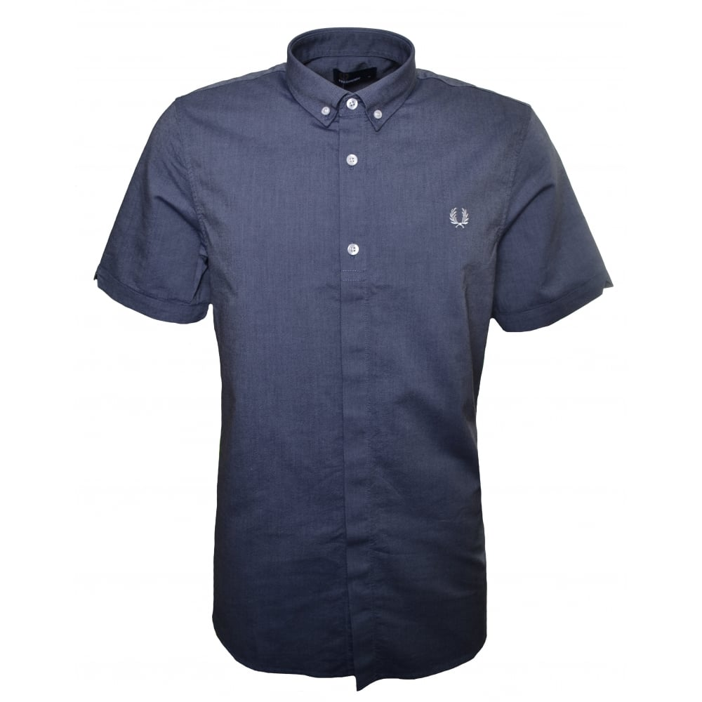 Fred perry mens dark carbon shirt for Fred perry mens shirts sale