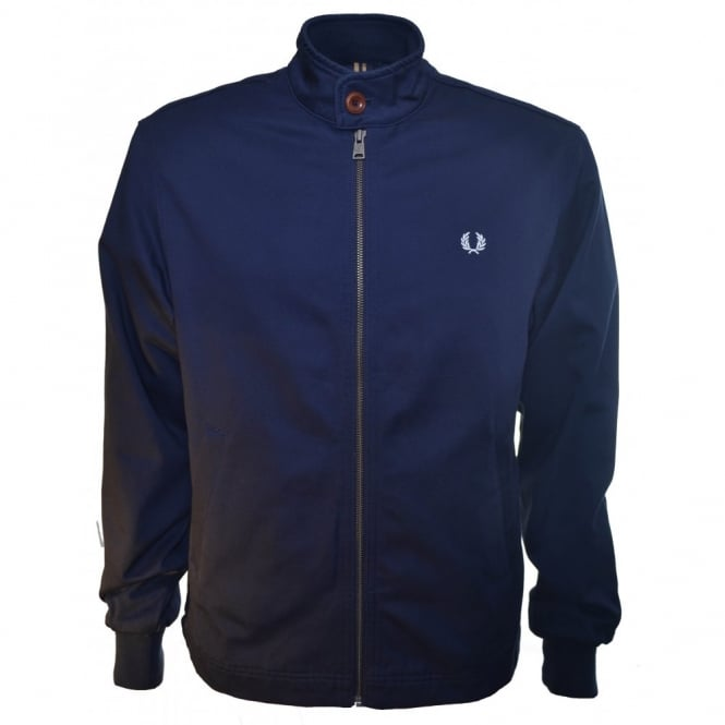 Fred Perry Mens Dark Carbon Scooter Jacket
