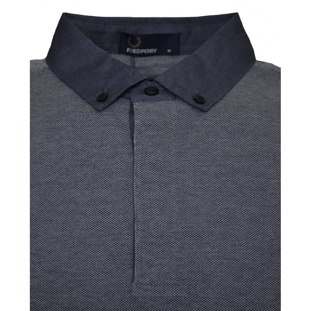 Fred Perry Mens Dark Carbon Polo Shirt