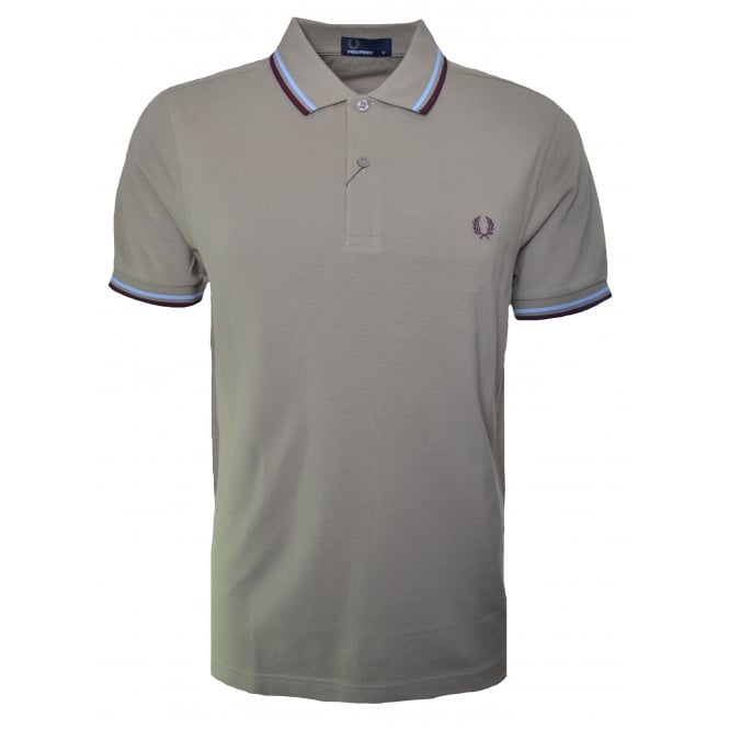 Fred Perry Men's Field Green Polo Shirt