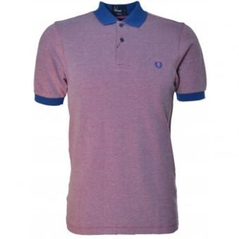 Men's Fred Perry Royal Tonic Tipped Slim Fit Polo Shirt