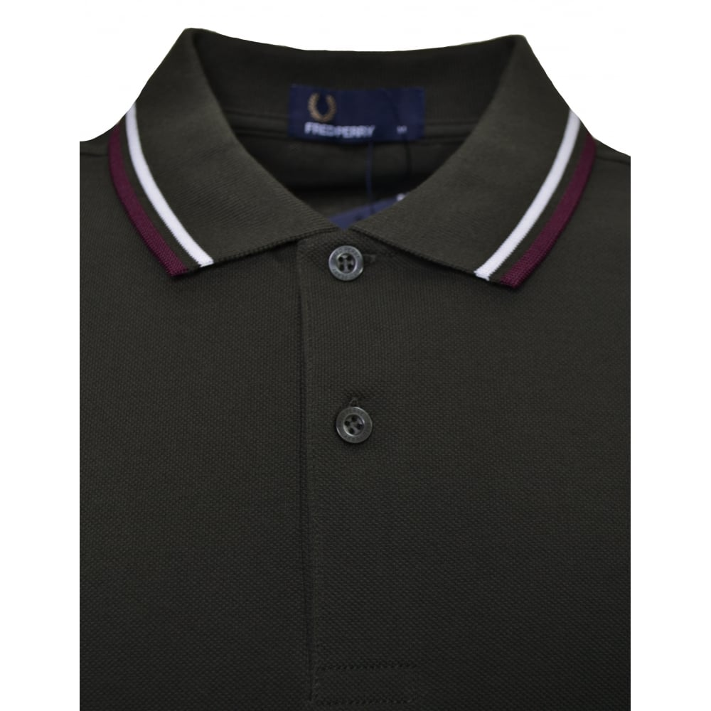 Mens Fred Perry Twin Tipped Shirt