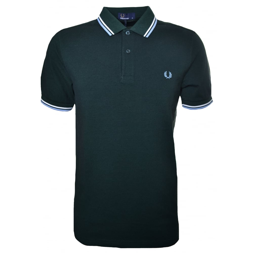 432839c4b men's fred perry twin tipped shirt