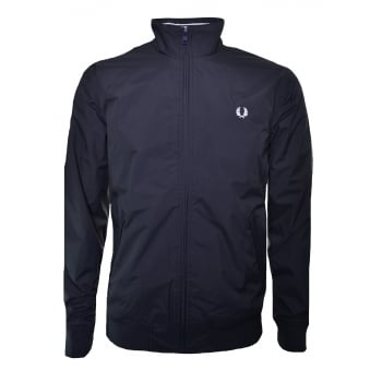 Fred Perry Men's Navy Blue Brentham Jacket