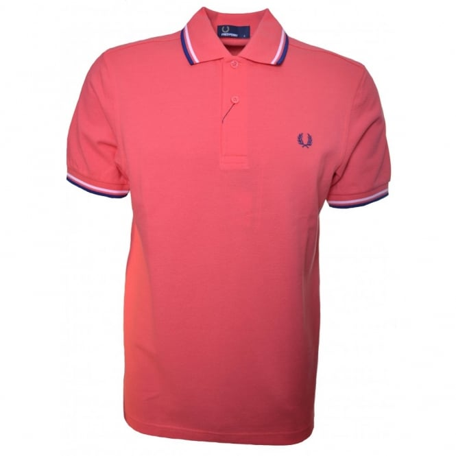 3118c413 fred perry mens twin tipped polo shirt