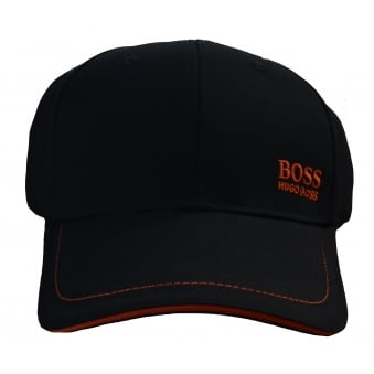 Hugo Boss Green Men's Black Cap