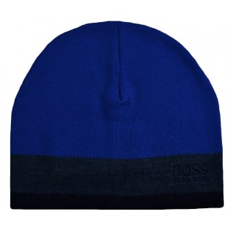 Hugo Boss Green Men's Ciny Medium Blue Hat