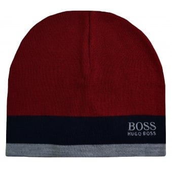 Hugo Boss Green Men's Ciny Medium Red Hat