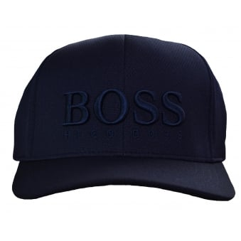 Hugo Boss Green Men's Navy Blue Cap-MK-1