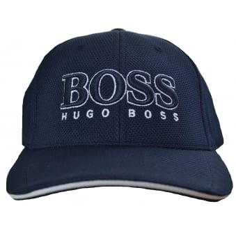 Hugo Boss Green Men's Navy Blue Cap