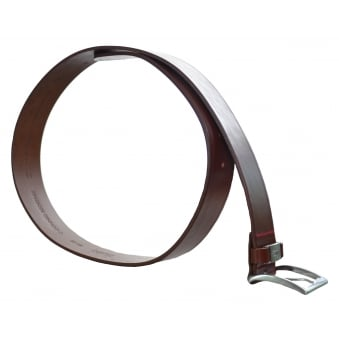 Hugo Boss Men's C-Connio Medium Brown Leather Belt