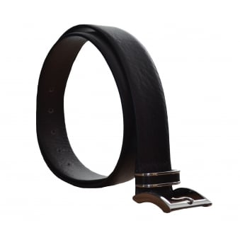 Hugo Boss Men's Froppin Dark Brown Leather Belt