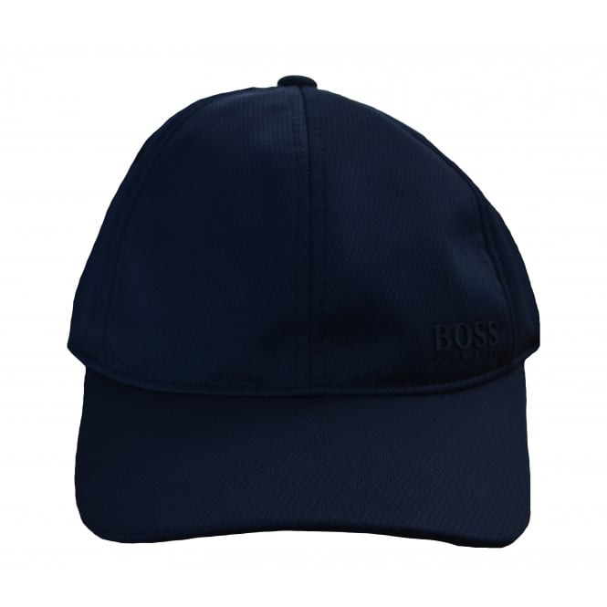 Hugo Boss Accessories Hugo Boss Men's Navy Herringbone Print Cap